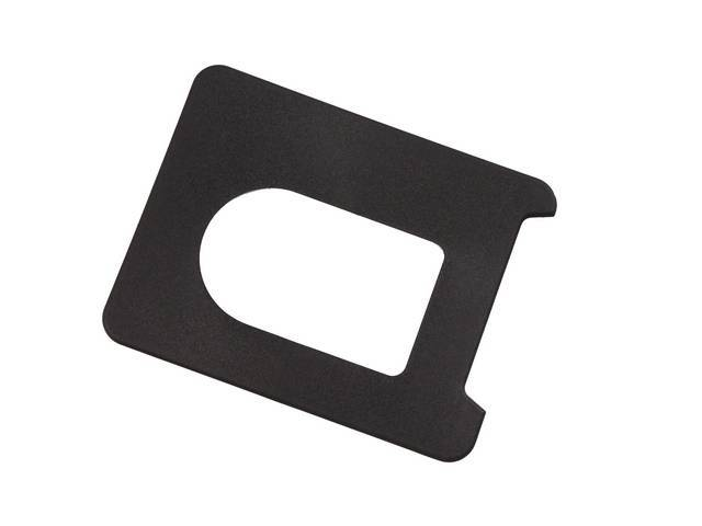 PLATE Shift Boot Trim upper plastic repro An