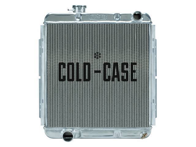RADIATOR, Aluminum, Cold Case by Max Performance, high