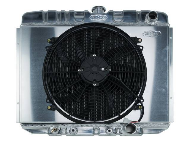 RADIATOR KIT, Aluminum, Cold Case by Max Performance,