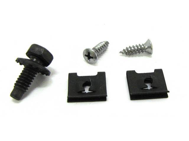 MOUNTING KIT, RADIATOR GRILLE ORNAMENT