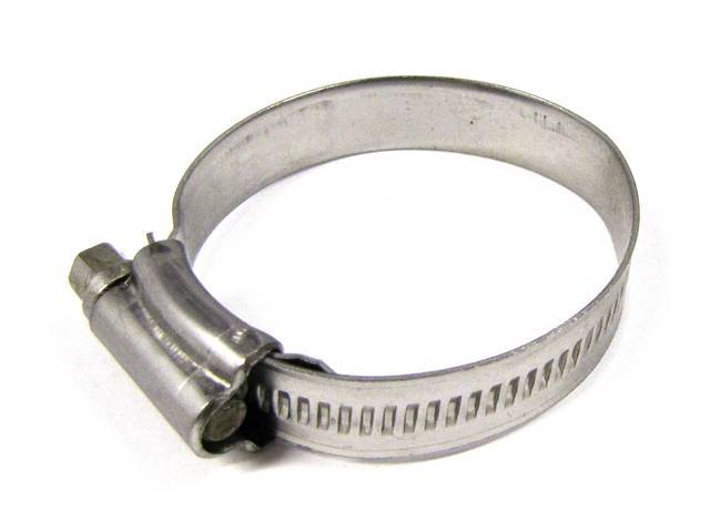 HOSE CLAMP, STAINLESS, SIZE 24, 1 1/2 INCH