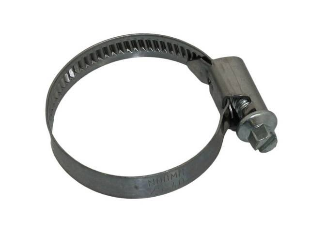 Mustang, Stainless steel hose clamp, rolled edge, 1