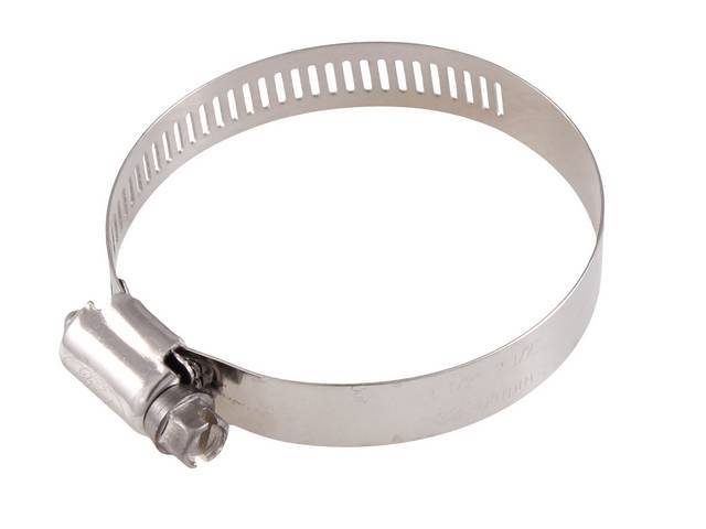 HOSE CLAMP, Stainless steel, 1 1/2 inch to