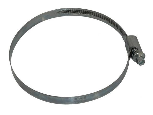 Mustang, Stainless steel hose clamp, rolled edge, 2