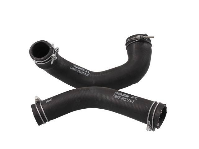 RADIATOR HOSES Concours pair upper and lower hose