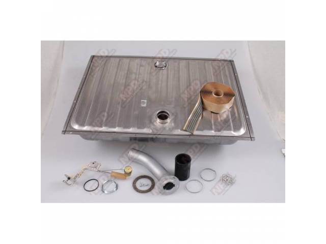FUEL TANK KIT, Deluxe Concours, Kit includes tank