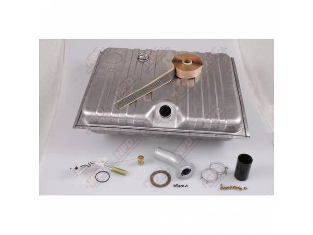 FUEL TANK KIT Deluxe Concours Kit includes tank