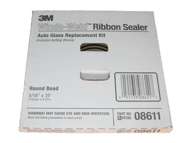 3M WINDOW WELD RIBBON SEALER KIT CONTAINS 5/16