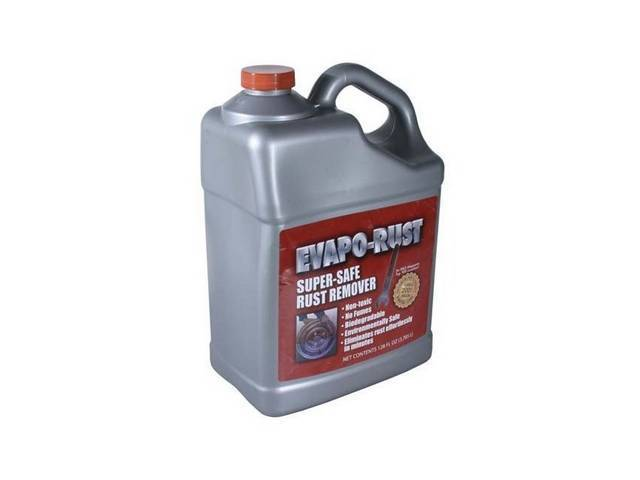 EVAPO-RUST Rust Remover, 1 gallon bottle, Removes rust