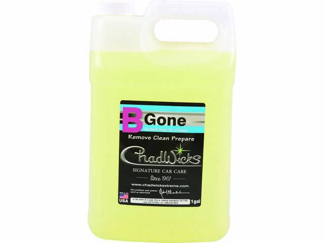 Chadwick's Signature Car Care BGone Surface Prep gallon