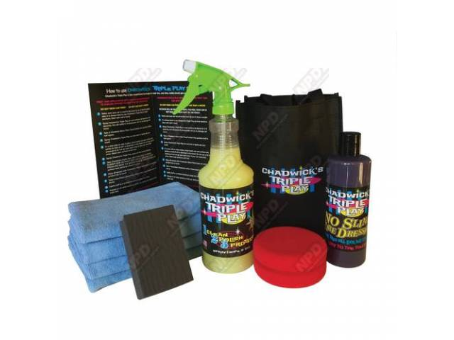 Car Care System Chadwicks Triple Play All The