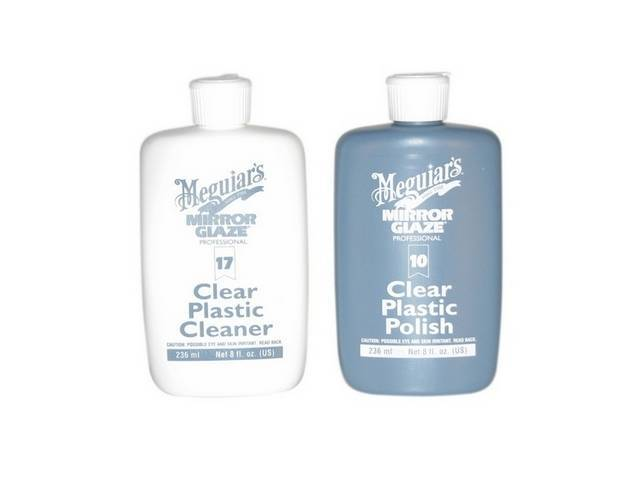 MEGUIARS CLEANER AND POLISH COMBO