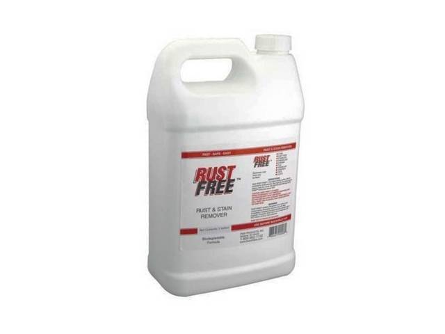 BOESHIELD RUST FREE, 1 GALLON BOTTLE, DISSOLVES EXISTING