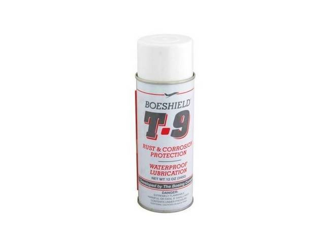 BOESHIELD T-9, RUST PREVENTION AND PENETRANT, 12 OUNCE
