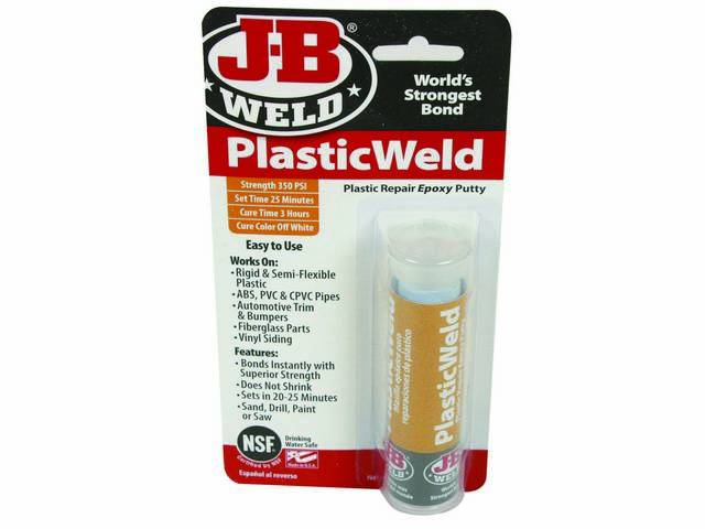 J-B KwikPlastic 8237Carded Use to repair and rebuild