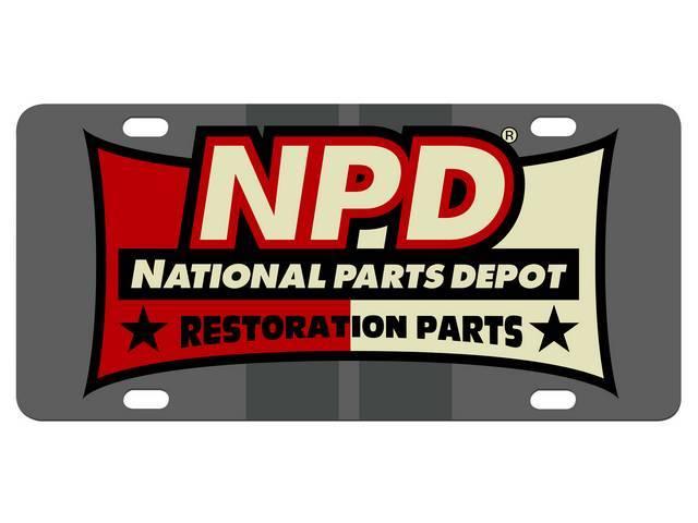 LICENSE PLATE, New NPD Design