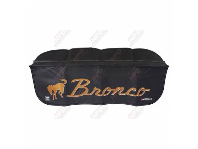 FENDER COVER, *Bronco* with horse