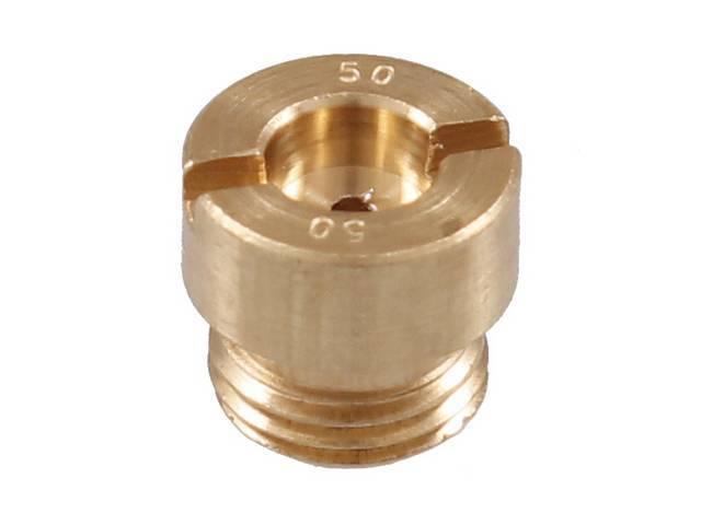 METERING JET, Carburetor, .050 inch, each, 2 reqd,