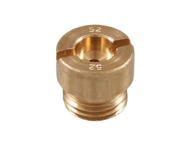 METERING JET, Carburetor, .052 inch, each, 2 reqd,