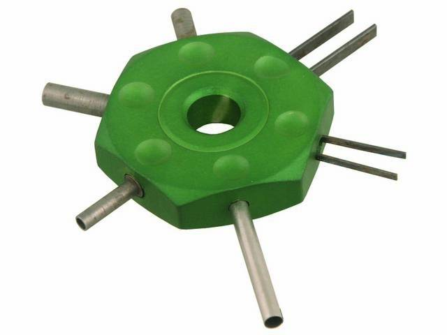 REMOVAL TOOL WIRE TERMINAL REMOVES WIRE TERMINALS FROM
