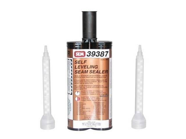 SEAM SEALER, SELF LEVELING, 7 OUNCE CARTRIDGE