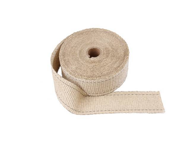 EXHAUST WRAP, Tan, 2 Inch x 50 Foot