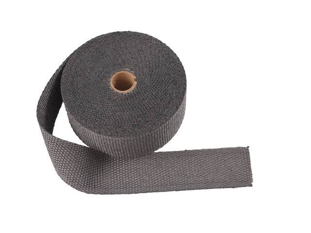 Exhaust Wrap Black 2 Inch X 50 Foot