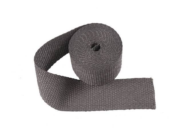 Exhaust Wrap Black 2 Inch X 15 Foot