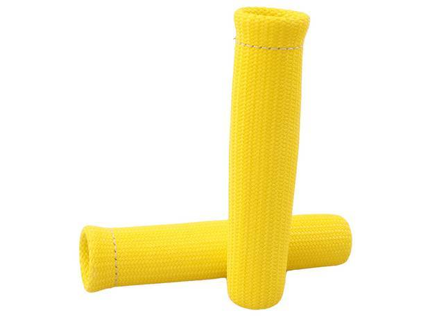 PROTECT-A-BOOT, Yellow, (2) per pack, 6 Inch, Non-flammable,