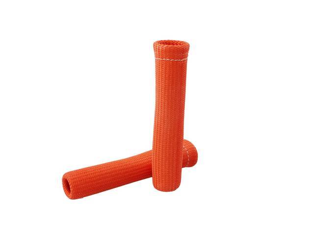 PROTECT-A-BOOT, Orange, (2) per pack, 6 Inch, Non-flammable,