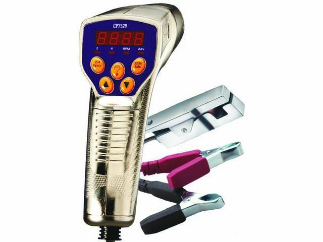 ACTRON Digital Tach Advanced Inductive Timing Light, Bright