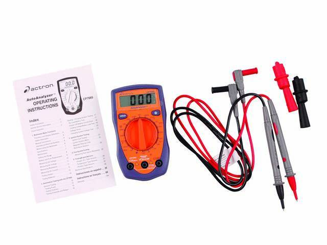 ACTRON AUTOANALYZER DIGITAL MULTIMETER