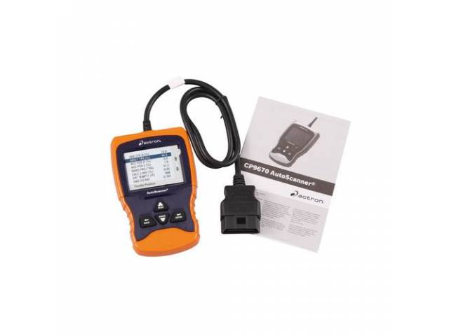 ACTRON AutoScanner, OBD II Code Reader, Live data