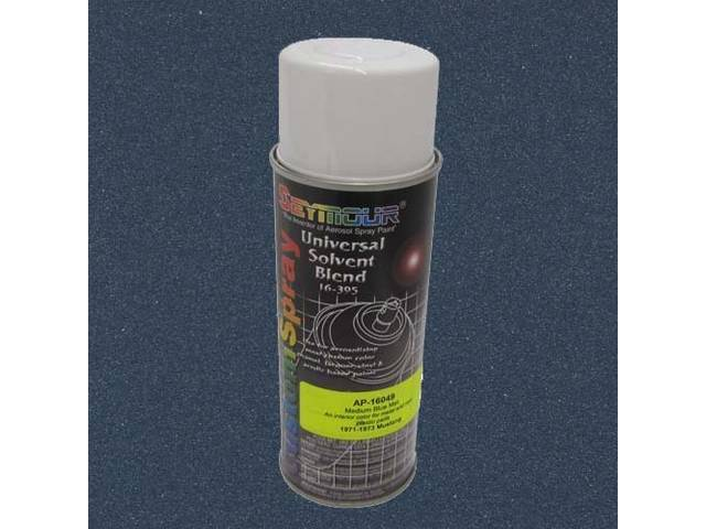 INTERIOR PAINT, LACQUER SPRAY