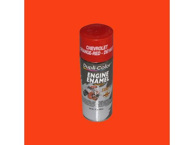 Paint Engine Chevrolet Orange / Red Duplicolor 12