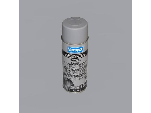 Paint Zinc-Rich Coating / Primer 12 Fluid Ounce