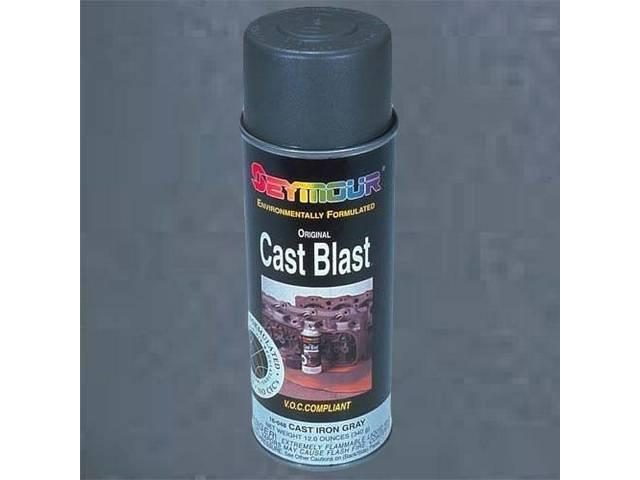 PAINT, CAST BLAST CAST IRON METALLIC