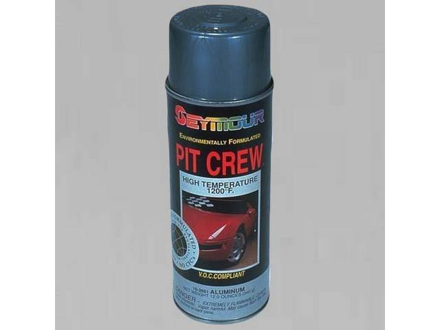 PAINT HIGH TEMPERATURE ALUMINUM 12 OUNCE AEROSOL VOC