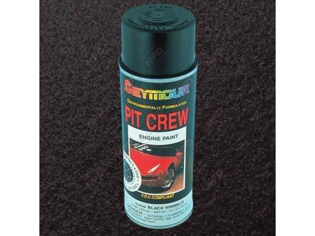 PAINT ENGINE ENAMEL BLACK WRINKLE 12 OUNCE AEROSOL