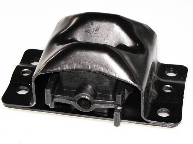 INSULATOR / MOUNT, Engine, Rubber, Installs on Frame, see C-0029 p/n for steel mount that installs on engine, Repro