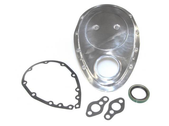 COVER, Crankcase Front End / Timing Chain, POLISHED