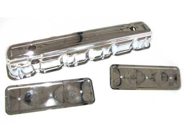 COVER, Valve, Chrome Plated Steel, incl side plate