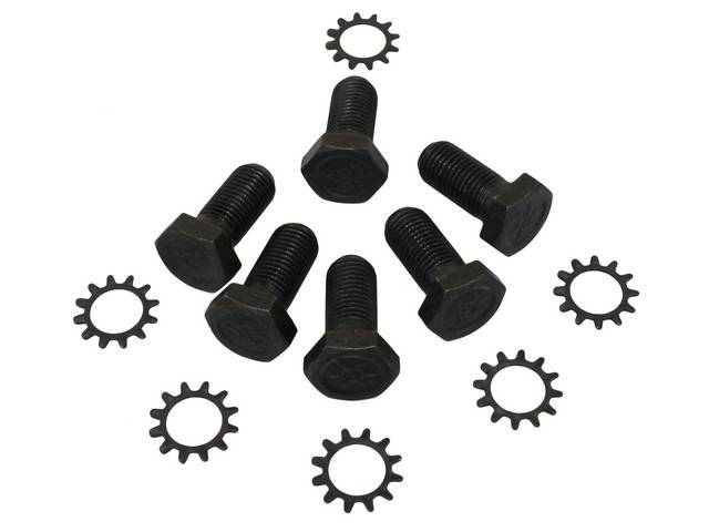 FASTENER KIT, Flywheel to crankshaft, (12) incl 11/16