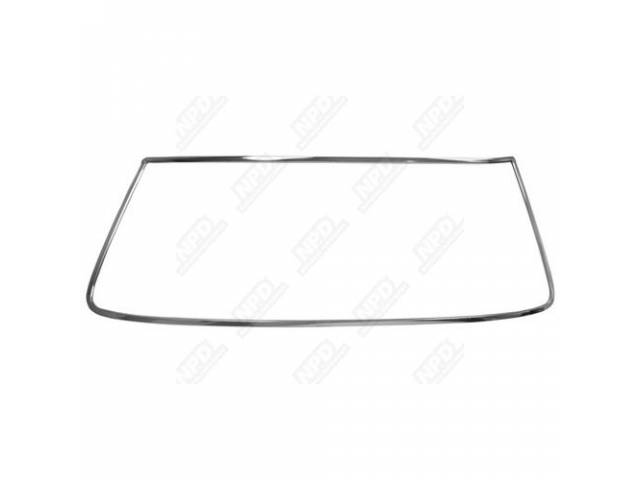Molding Kit Windshield 5 Incl Sides Bottom And