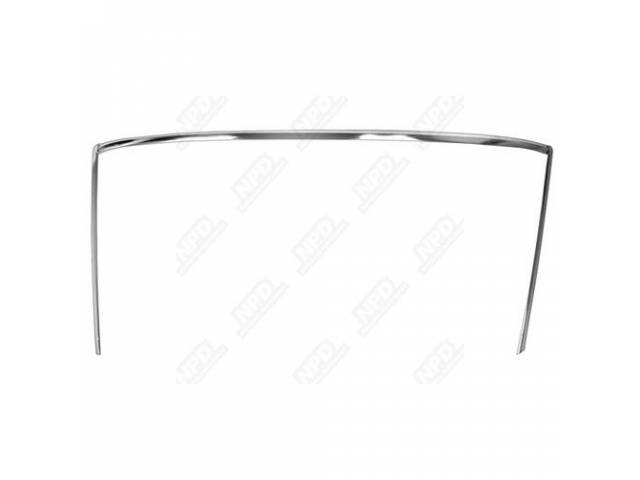 Molding Kit Windshield 3 Incl Sides And Top