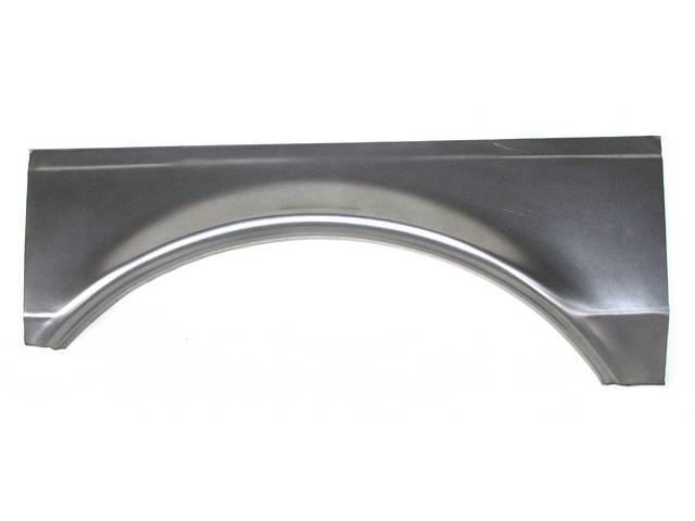 REPAIR PANEL, Rear Wheel Flair, RH, 29 Inches Long x 11 Inches High, Repro