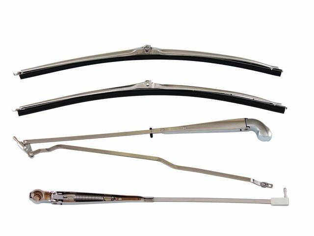 ARM AND BLADE SET, Windshield Wiper, stainless steel