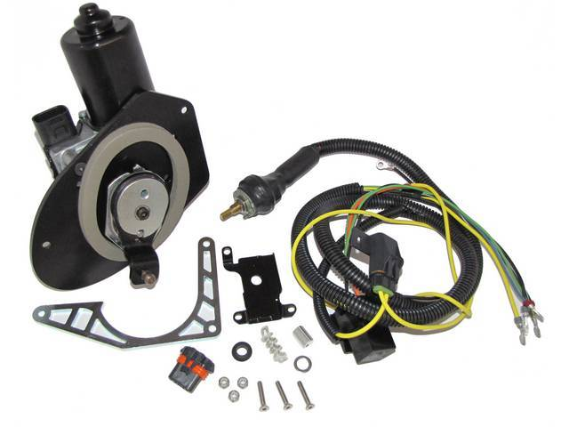 MOTOR, Windshield Wiper, Detroit Speed Selecta-Speed, features 7