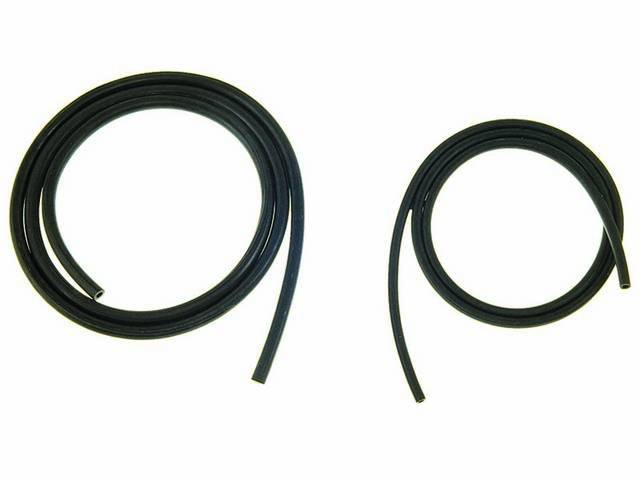 HOSE KIT, Windshield Washer, Incl 5 Feet of 7/32 Inch Ribbed Thin Wall Tubing and 4 Feet of 5/32 Inch Hose, Repro