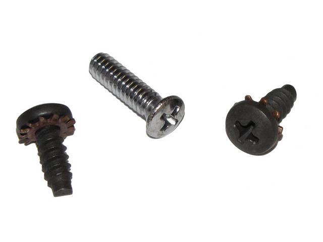 FASTENER KIT, Mirror and Bracket, Outside, Remote, (3)